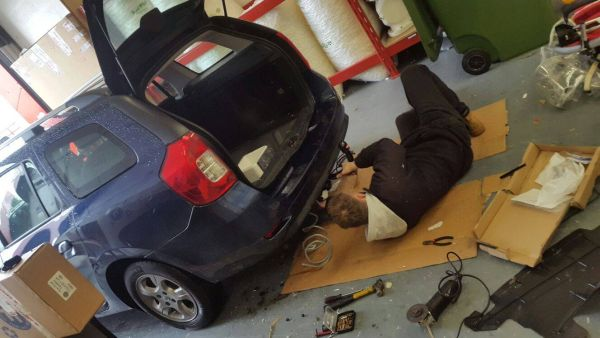mobile Towbar fitter Daventry Northamptonshire
